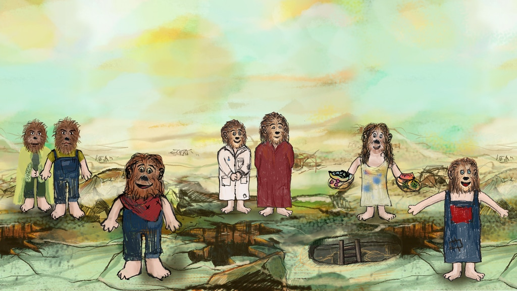 The Rumplings, Age of Dawn - Illustrated Children's Book project video thumbnail