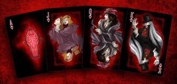 Vampire Ace & Court cards, Click for high res