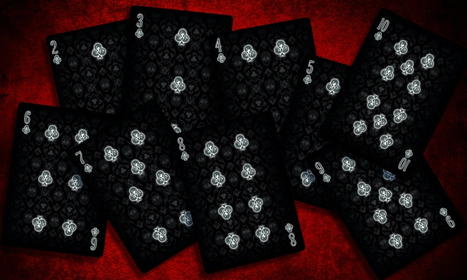 Ghost Number cards, Click for high res