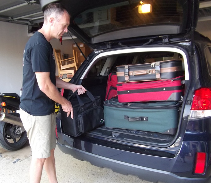 Ideal for roadtripping when you have limited trunk space