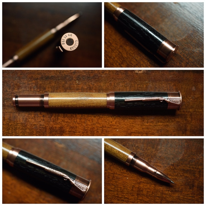 Shotgun Rollerball in Antique Copper