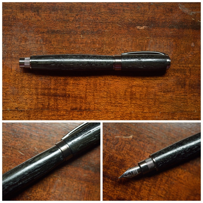 Graduate Fountain Pen in Gunmetal