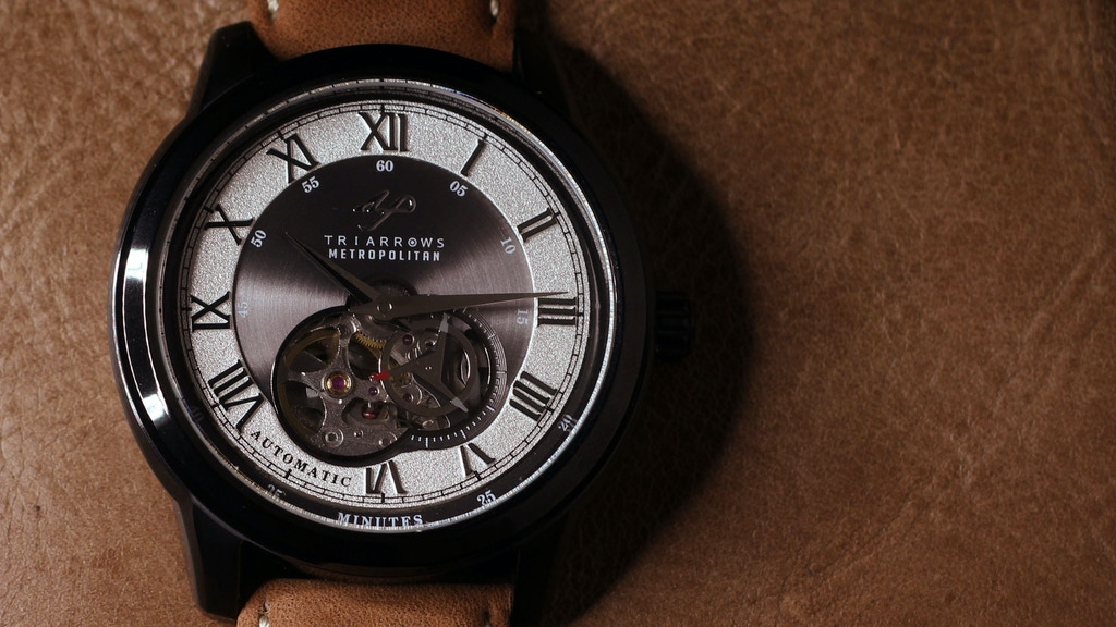 Automatic Watch: The Mechanical One project video thumbnail