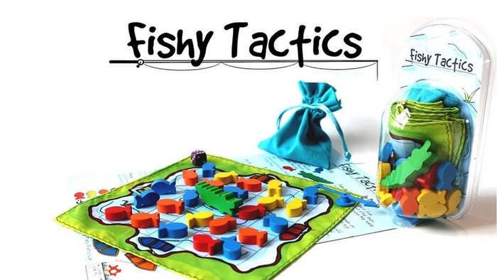 Take gaming to a whole new scale with Fishy Tactics: a game of fish, fun and crocodiles for the whole family.