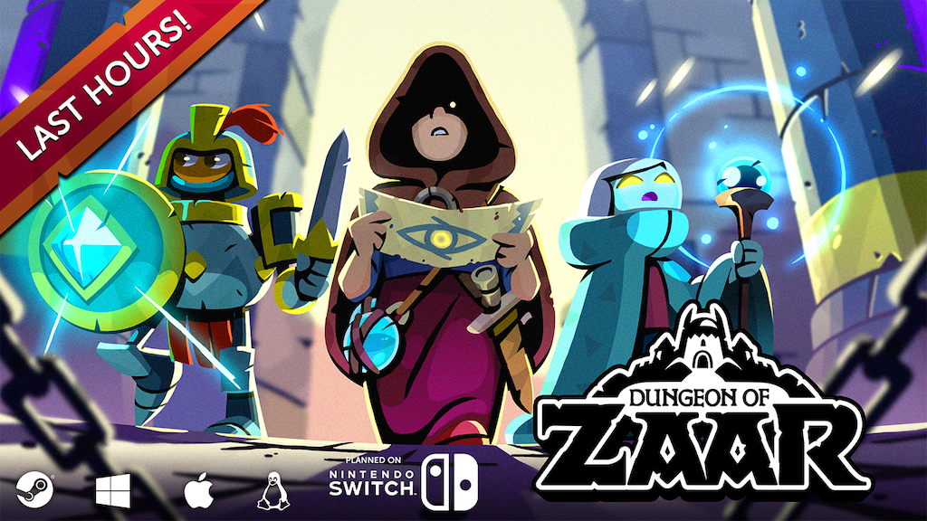 Dungeon of Zaar: a Fast paced tactical. project video thumbnail