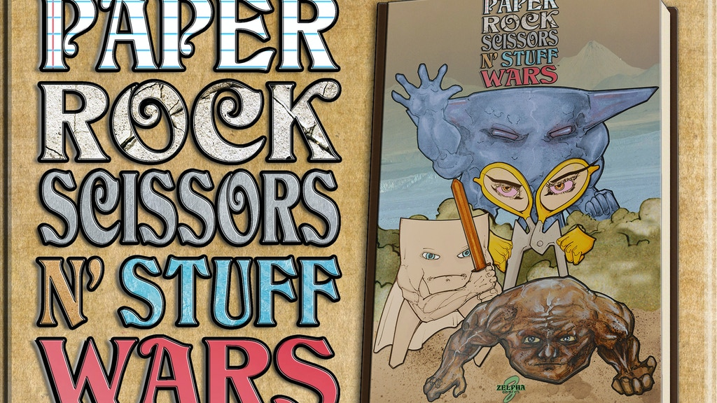 Paper Rock Scissors N' Stuff Wars Graphic Novel project video thumbnail