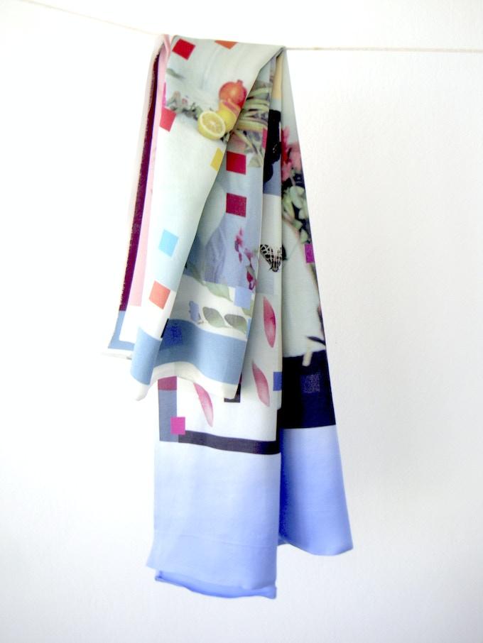 Silk artwork