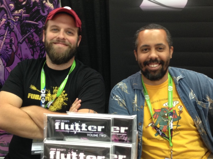Jeff McComsey and Chris Goodwin, NYCC 2015