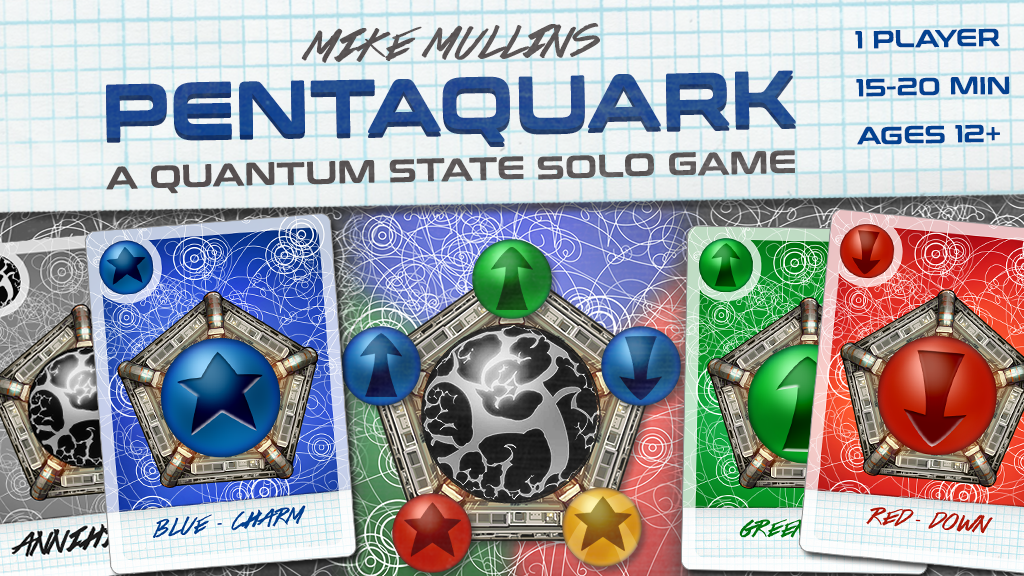Pentaquark - A solo microgame in a quantum state. project video thumbnail
