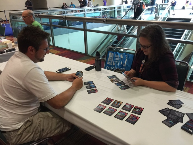 Three player game of Super Hack Override with one person in Hacker Jail