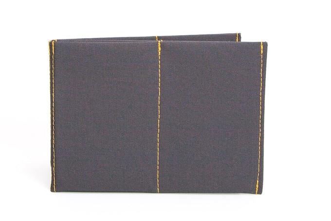 Charcoal/Gold Original Size Wallet