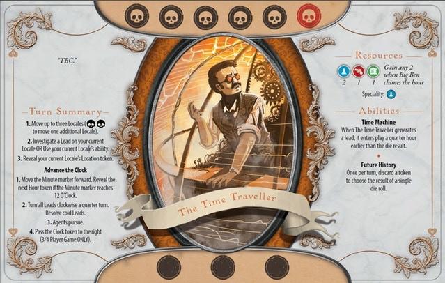 The Time Traveller investigator card