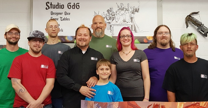 Thank you for backing from the Studio 6d6 crew!