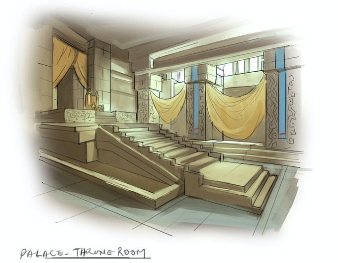 Palace Throne Room
