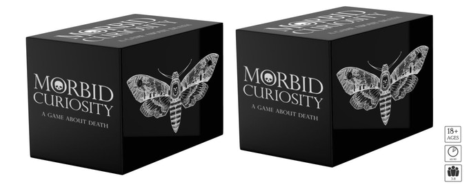 Level 3: Backers receive two decks Morbid Curiosity. Please note these will be delivered to one address.