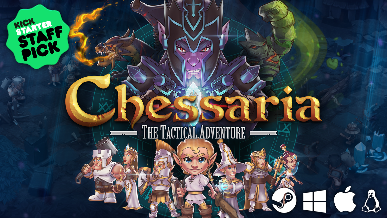 Chessaria: Experience a strategy game with tactical depth, breadth, and challenge like nothing you have played before: an original combination of Chess, tactical setups and story-based missions.