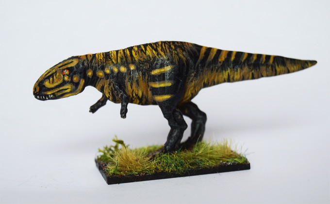 Charcarodontasaurus: The beautiful models of Magister Militum are perfect for Cretacea!