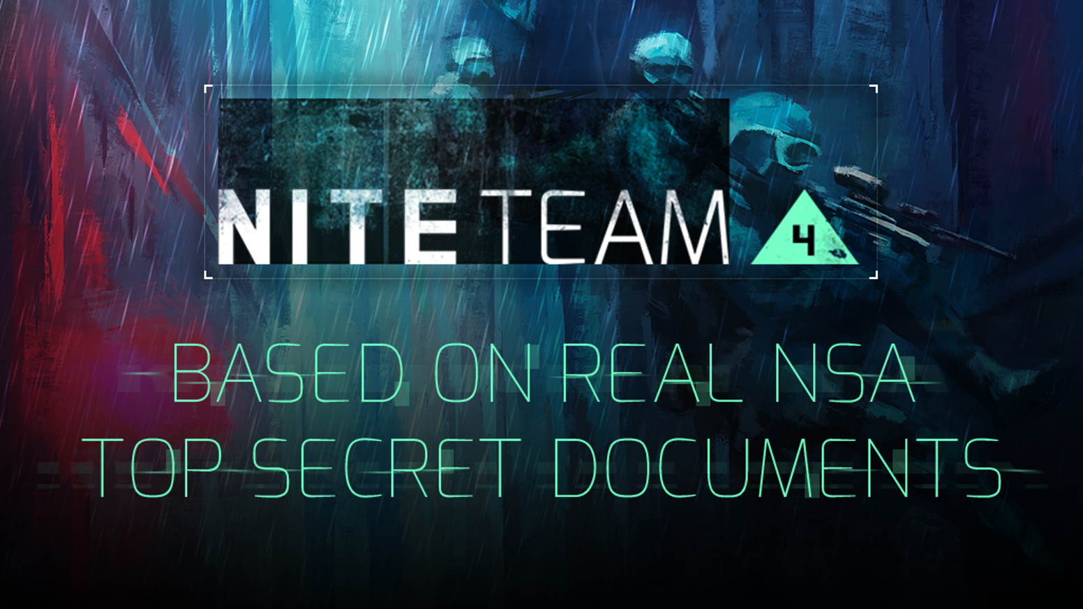 NITE Team 4 - Military Hacking RPG by Alice & Smith