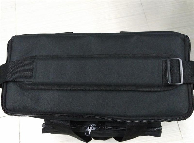 The padded section of the strap is quite long, and sits comfortably across the shoulder