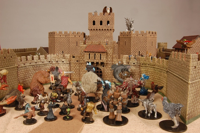 Defending against the horde!