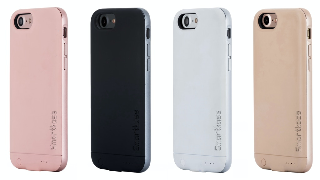 Smartkase for iPhone 7 - Dual Sim +Memory Card +Battery Case project video thumbnail
