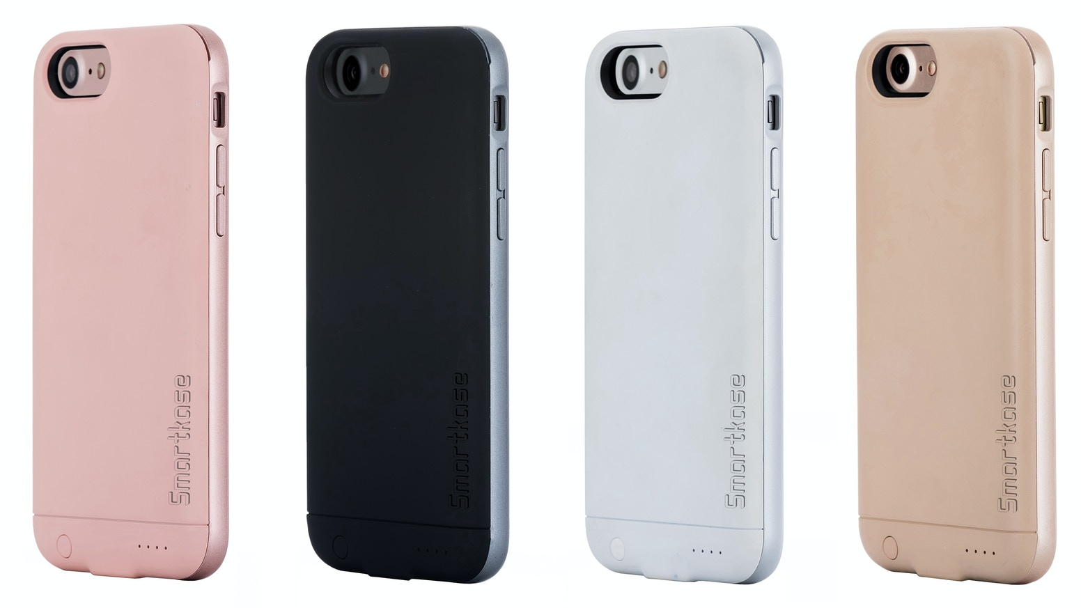new concept 1e90a f9daa Smartkase for iPhone 7 - Dual Sim +Memory Card +Battery Case by ...