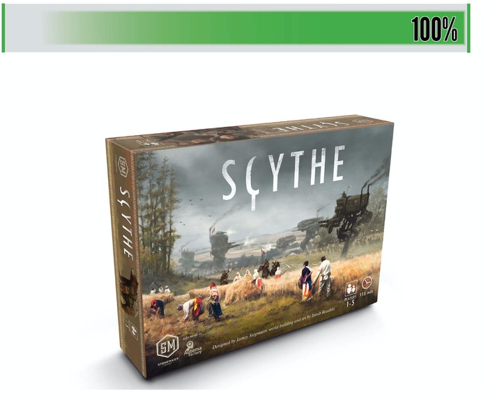 Create an empire with monstrous mechs and industrious workers in this alternate-history, 115-minute board game for 1-5 competitors.