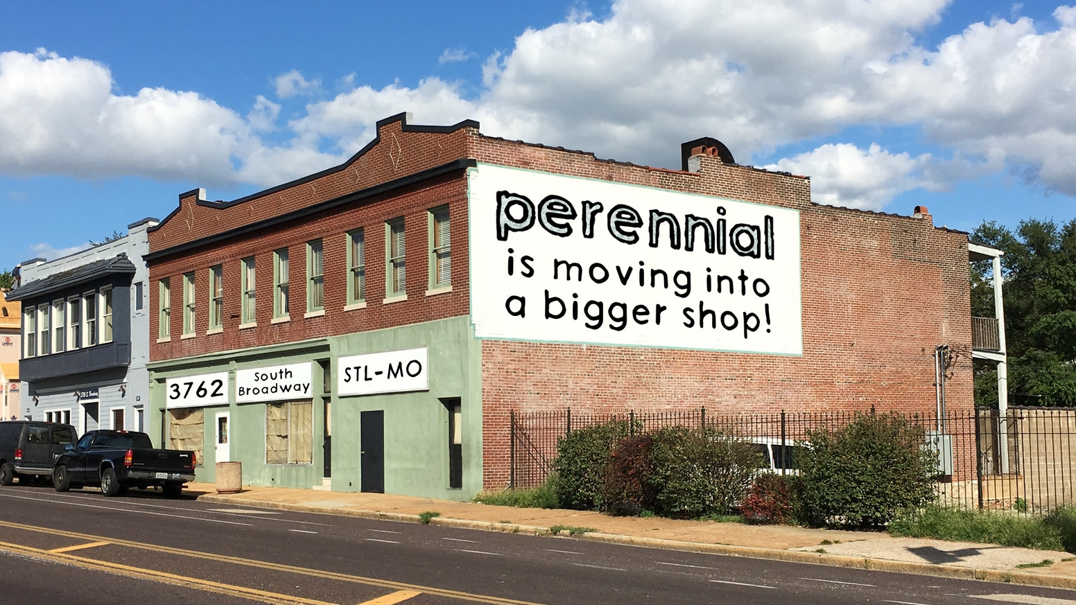 Perennial is a non-profit community workshop all about creative reuse. Help us build a bigger and better workshop for St. Louis!