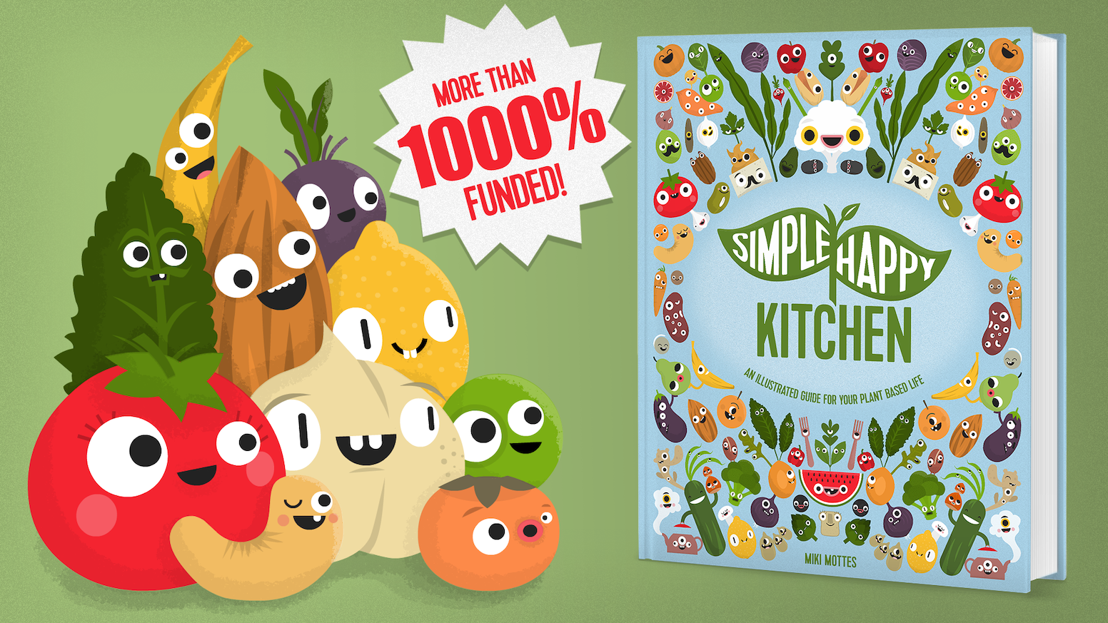 Simple Happy Kitchen: Illustrated Guide for Plant-Based Life by ...