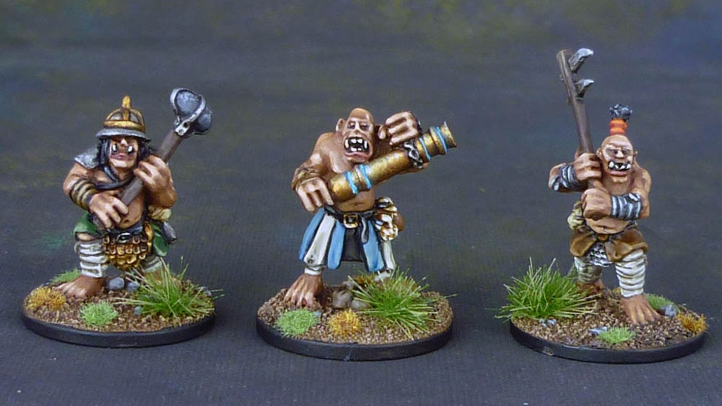 10mm Fantasy Ogre Miniatures from Black Gate Miniatures project video thumbnail