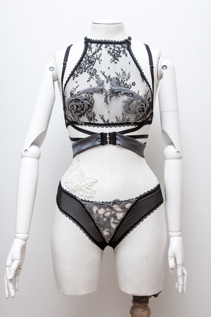An example of Karolina Laskowska custom designed lingerie