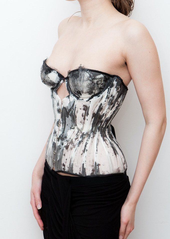 An example of a Karolina Laskowska custom designed corset