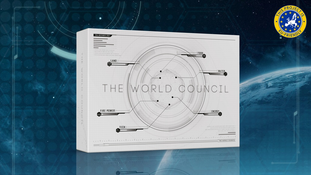 The World Council - A Board Game for Summit project video thumbnail