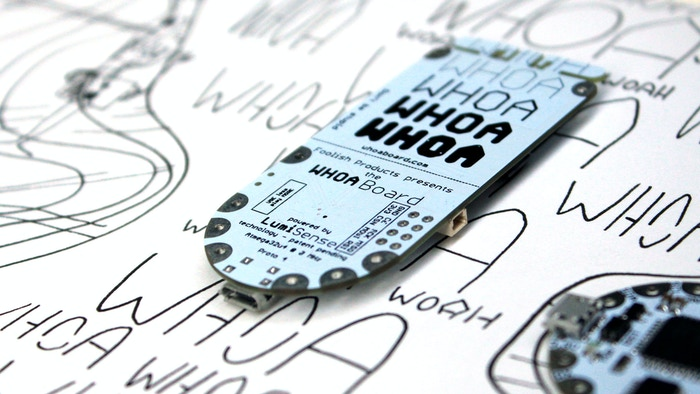Whoa Board: Dream With Touch Sensing EL Wire, Panels, Paint by ...