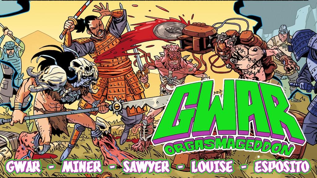 GWAR: Orgasmageddon - the Scumdogs conquer comics! project video thumbnail