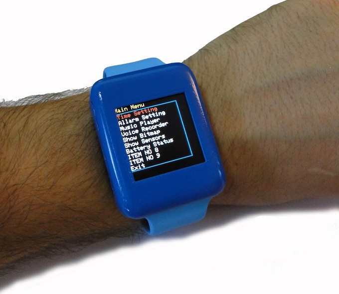 Culbox open source diy smart watch for arduino by