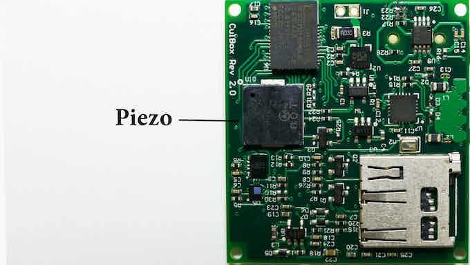 On-Board Piezo Speaker