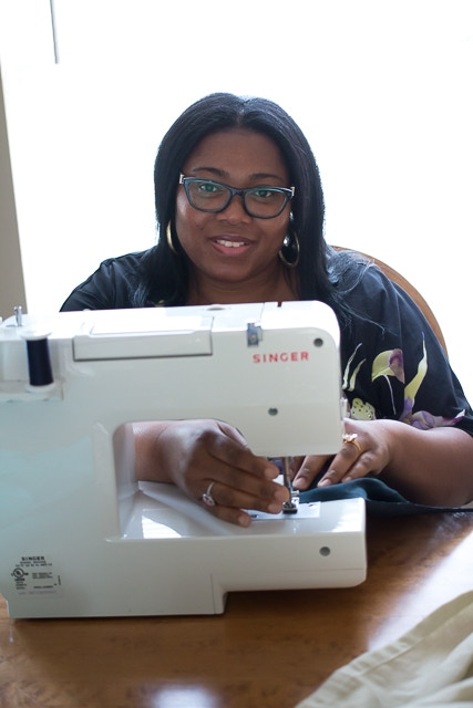 Sena, one of our beloved seamstresses, wife and mother to 3 energetic children.