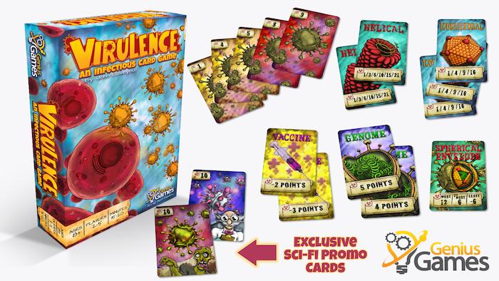 virulence an infectious card gamejohn coveyou genius