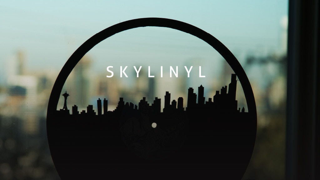 SKYLINYL - The First Vinyl Art Made From Recycled Records project video thumbnail