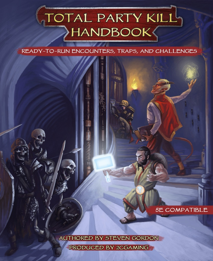 Dangerous encounters and devious traps, all easy to use in your personal campaign. It's the busy DM's best friend.