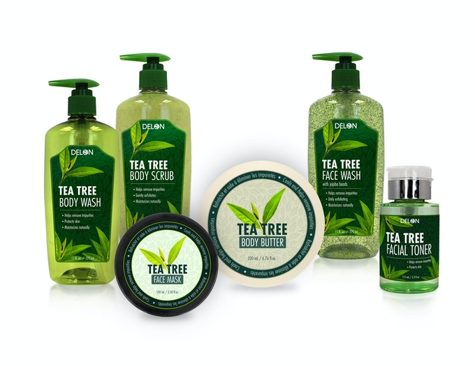 Our New Tea Tree Line