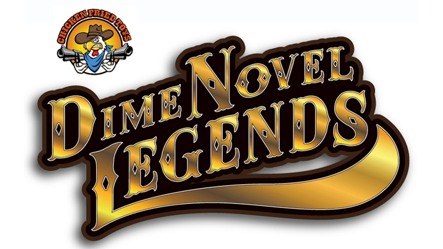 Chicken Fried Toys Dime Novel Legends 1:18th Action Figures by ...