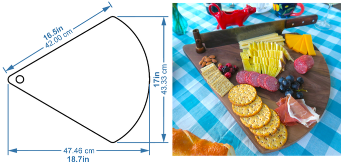 Cutting Board Dimensions
