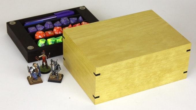 Yellowheart with Wenge tray