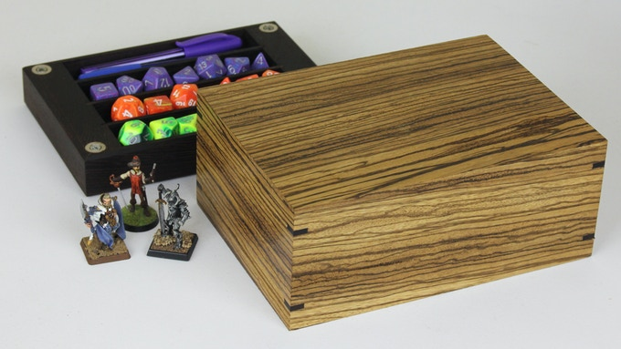 Zebrawood with Wenge tray