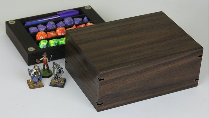 East Indian Rosewood with Wenge tray