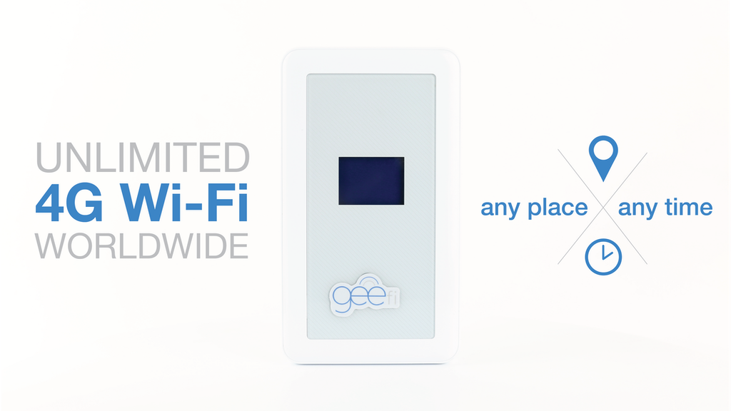 GeeFi | Unlimited 4G Wi-Fi Everywhere You Travel project video thumbnail