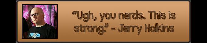 "Jerry ""Tycho Brahe"" Holkins, Co-Creator of Penny Arcade"