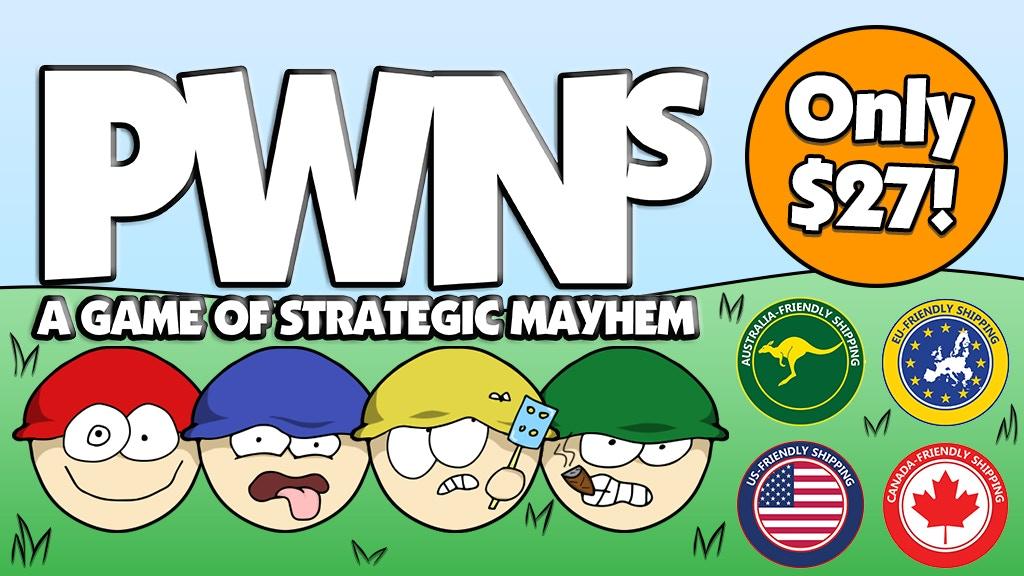 PWNs - A Game of Strategic Mayhem project video thumbnail